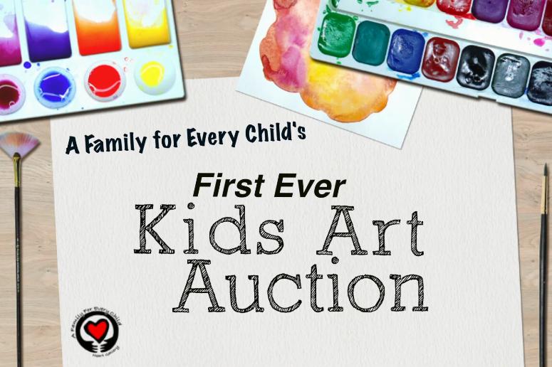 Online Kids Art Auction COVID-19 Relief Fundraiser