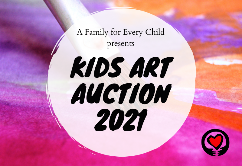 Online Kids Art Auction – Mother's Day Edition