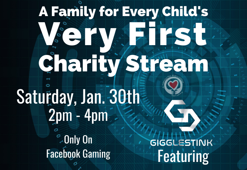 Charity Gaming Fundraiser feat. Gigglestink