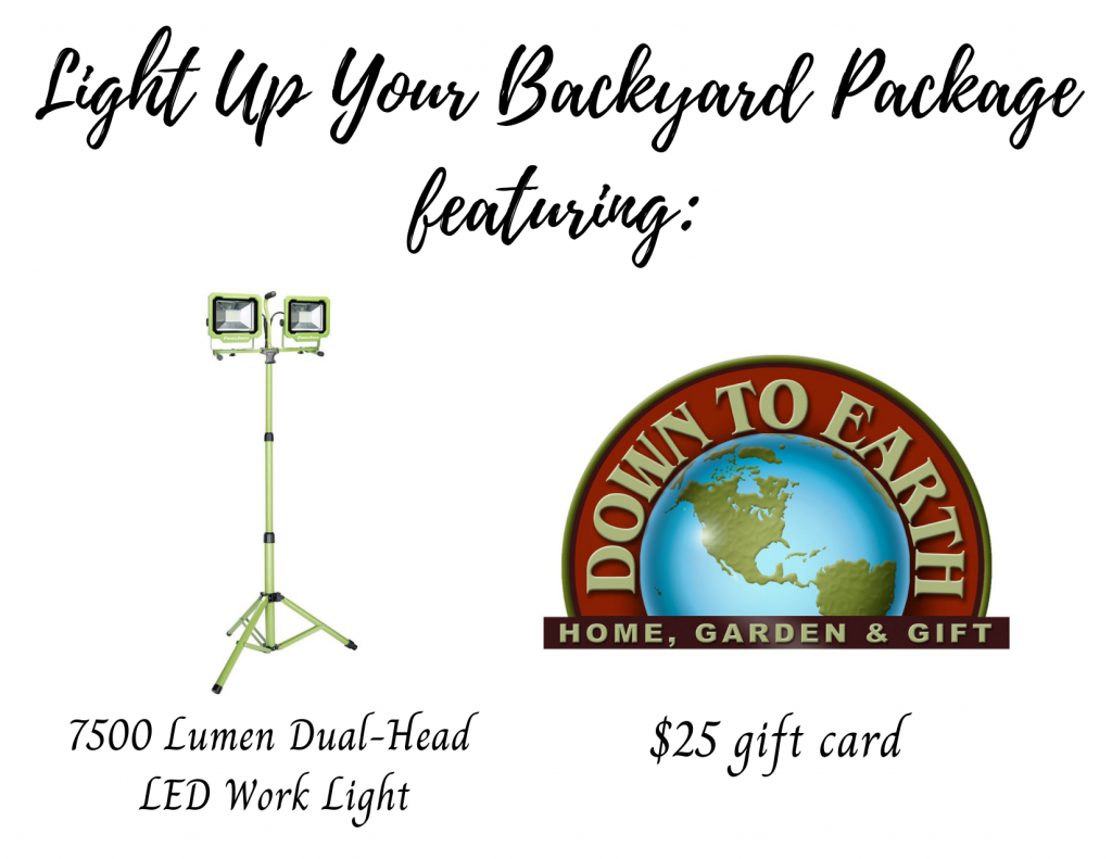 Light Up Your Backyard Package